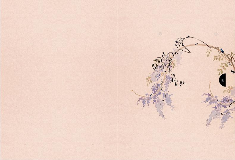 正版 锦瑟 呀呀画集 手绘水墨插画集 古风画集画册绘本 唯墨花女词的