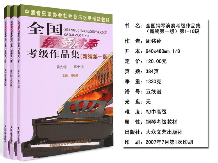 莫扎特曲 (三)c 小调奏鸣曲第一乐章
