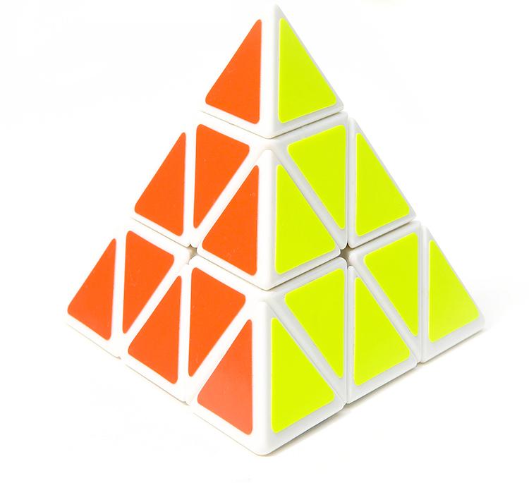 一号玩具 圣手金字塔三角形魔方异形弹簧可调专业比赛专用益智玩具