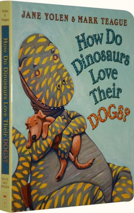 how do dinosaurs love their dogs 家有恐龙纸板书 吴敏兰书单