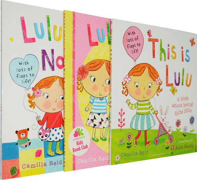 英文  出版社:bloomsbury               想知道可爱的lulu每天是怎么