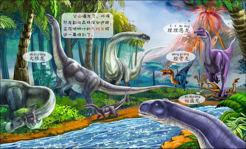 三叠纪恐龙-我的认知书 英国兄弟儿童出版公司 9787213073052