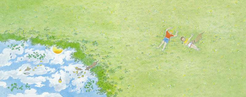 史比尔的《夏天的天空》     唐彦(自由艺术家)     无字图画书的魅力