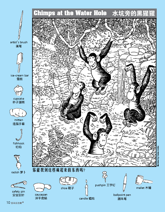 野生动物》童光萃集出版社