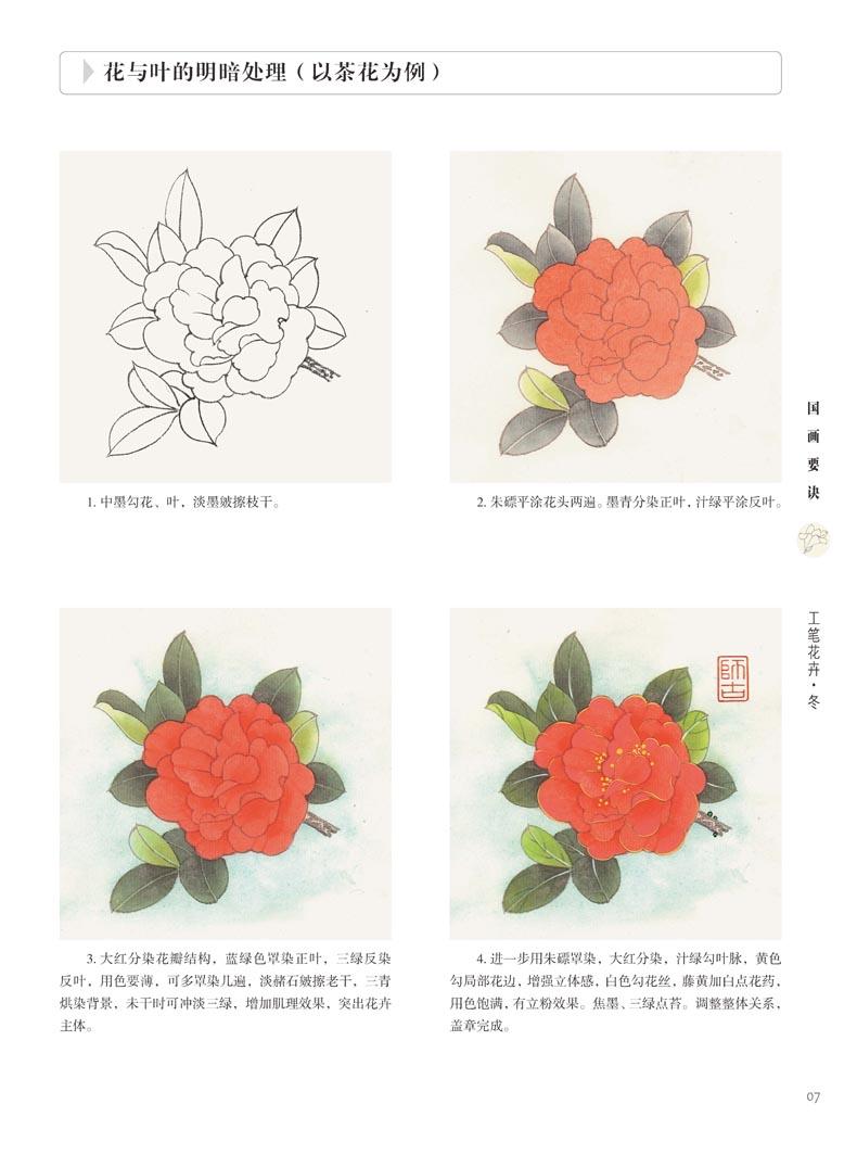 初学者之友-国画要诀.工笔花卉(冬)